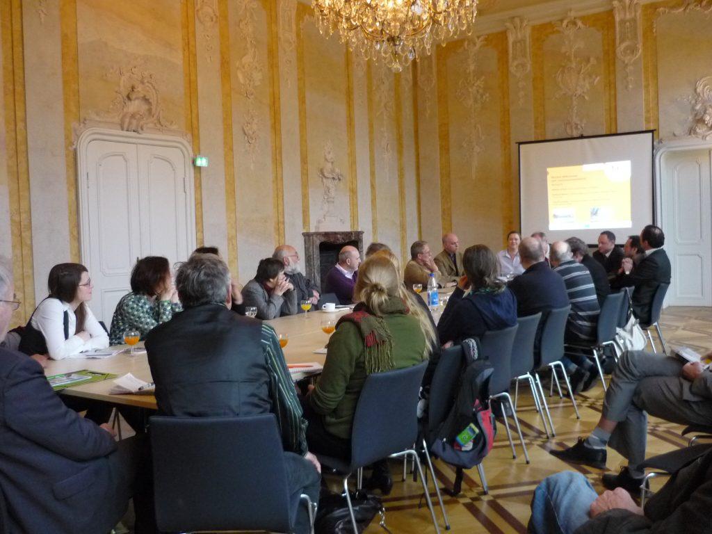 Tourismusentwicklung_Toutrismusstammtisch in SchlossSchönhausen2012_tic